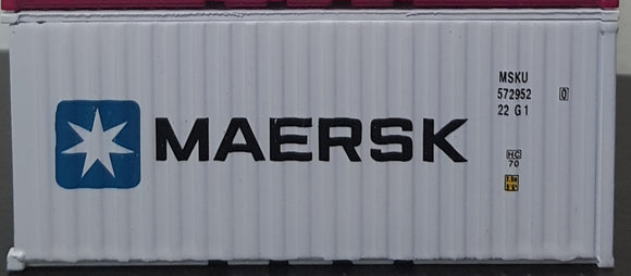 1:64 Diorama Container White MAERSK