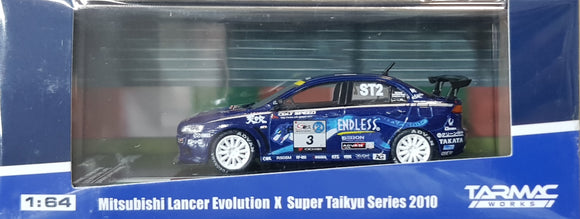 1:64 Tarmac Works Mitsubishi Lancer Evo X #3 Endless