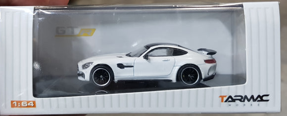 1:64 Tarmac Works Mercedes AMG GT R White