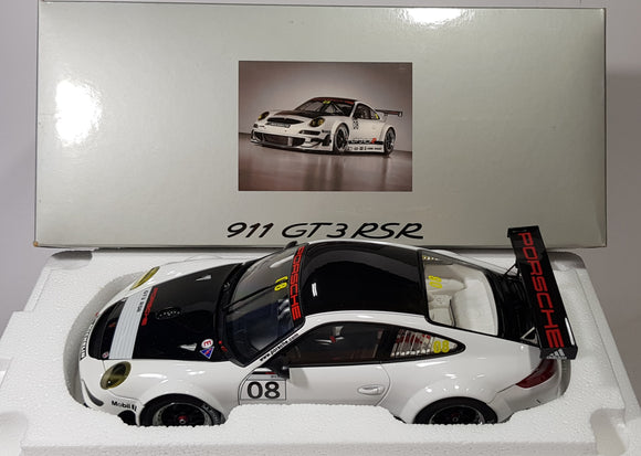 1:18 Autoart Porsche 911 GT3 RSR #8 (Dealer Box)