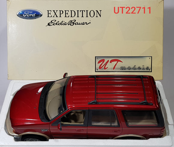 1:18 UT Models Ford Expedition Eddie Bauer Version - Red