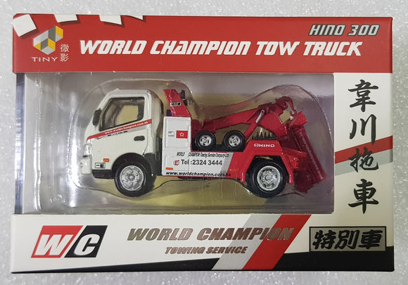 1:64 Tiny Hino 300 World Champion Tow Truck - Special Release