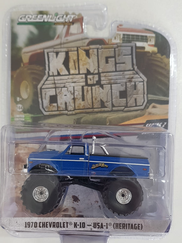 1:64 Greenlight Chevrolet  K10 - USA 1 Heritage