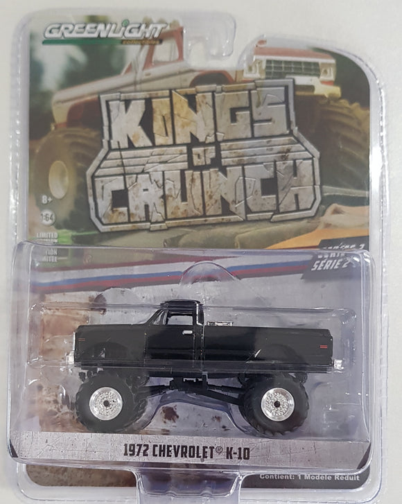 1:64 Greenlight Chevrolet  K10 - Black