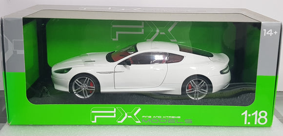 1:18 FX Models  Aston Martin DB9 Coupe White