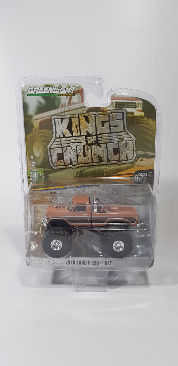 1:64 Greenlight Ford F-350 BFT - King Of Crunch Series 5