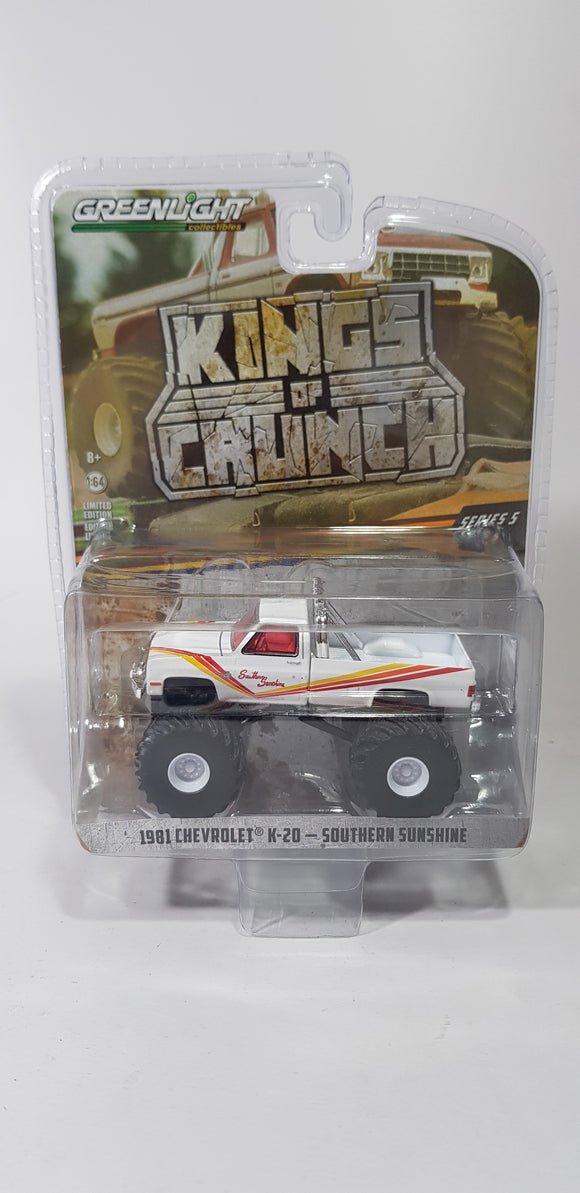 1:64 Greenlight Chevrolet K-20 Southern Sunshine - King Of Crunch Series 5