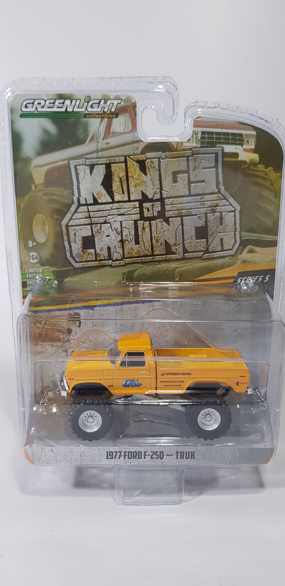 1:64 Greenlight Ford F-250 Truk - King Of Crunch Series 5