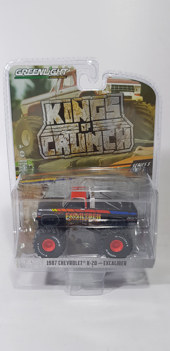 1:64 Greenlight Chevrolet K-20 Excaliber - King Of Crunch Series 5