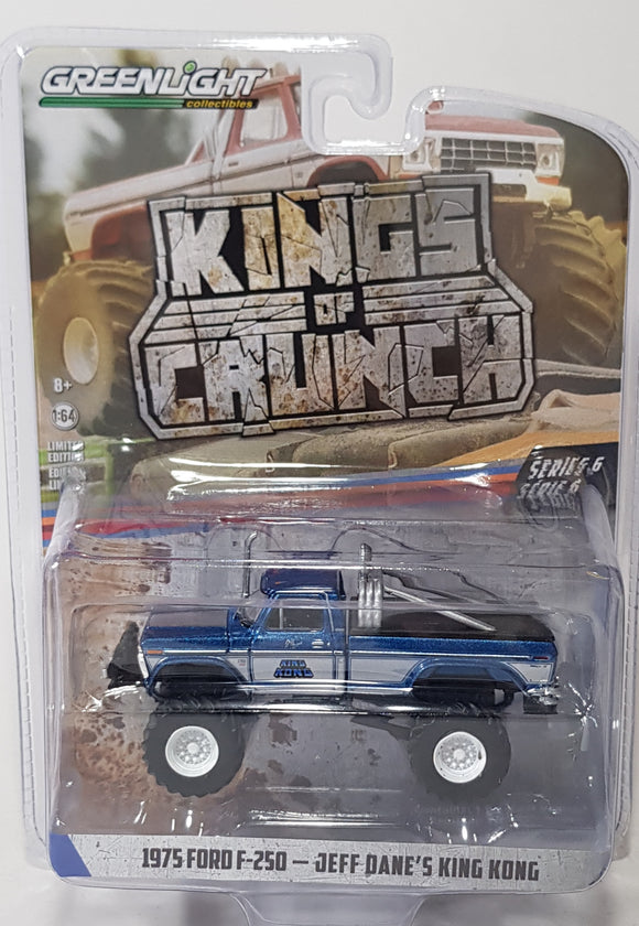 1:64 Greenlight Ford F-250 Jeff Dane's King Kong - King Of Crunch Series 6