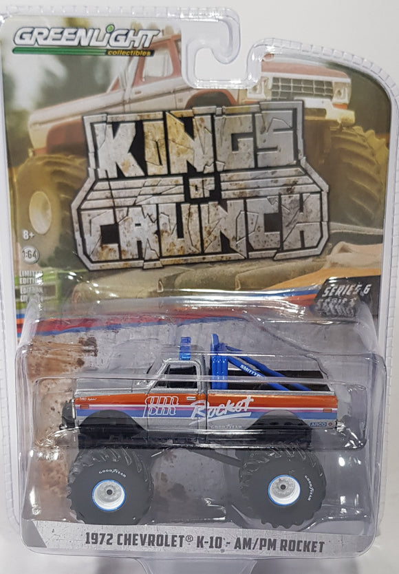 1:64 Greenlight Chevrolet K-10 AM/PM Rocket - King Of Crunch Series 6