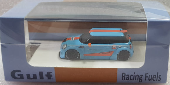 1:64 Timothy & Pierre Mini Cooper - Gulf