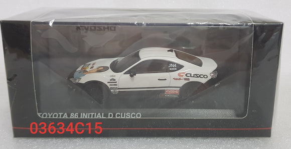 1:43 Kyosho Toyota 86 - Initial D Cusco