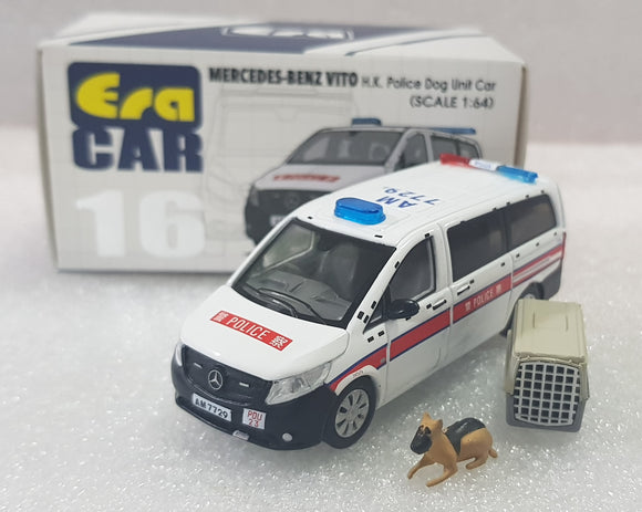 1:64 Era Mercedes Benz Vito - HK Police Dog Unit Car