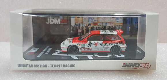 1:64 Inno64 Honda Civic EF9 Idemitsu Motion Temple Racing