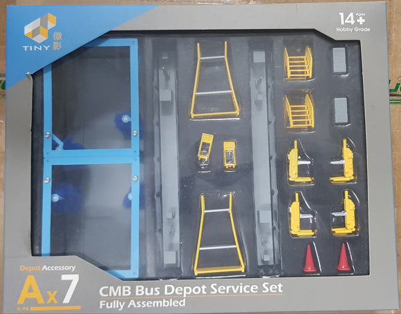 1:76 Tiny CMB Bus Depot Services - Ax7