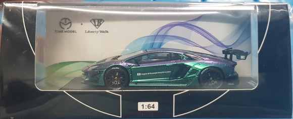 1:64 Time Model LibertyWalk Lamborghini Aventador LP700-4 Chameleon