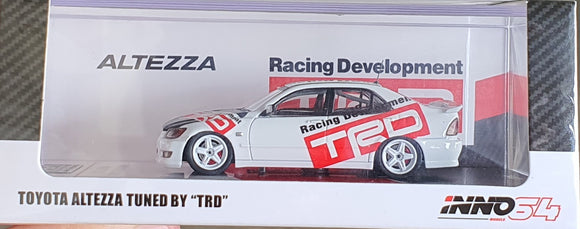 1:64 Inno64 Toyota Altezza RS200 Tuned by TRD - Japan Exclusive