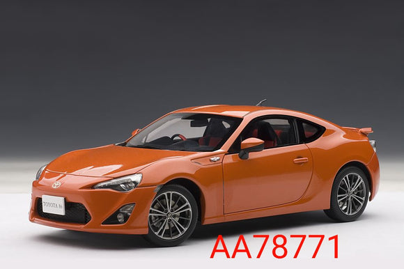 1:18 Autoart Toyota 86 GT Limited RHD - Orange