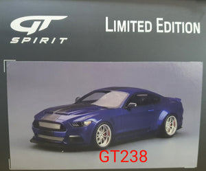 1:18 GT Spirit Ford Shelby GT350 Wide Body Blue GT238