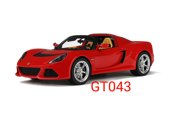 1:18 GT Spirit Lotus Exige S3 Roadster Red - GT043