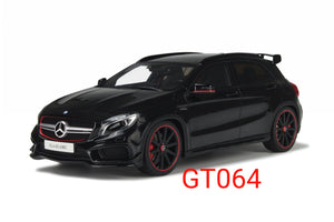 1:18 GT Spirit Mercedes Benz GLA45 Black - GT064