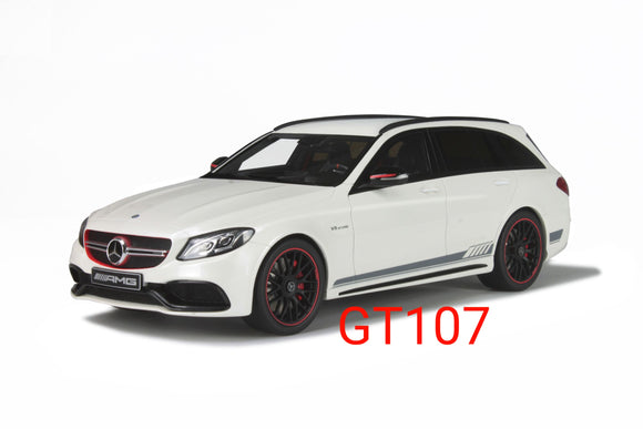 1:18 GT Spirit Mercedes Benz C63 SW Edition 1 White - GT107