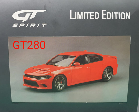 1:18 GT Spirit Dodge Charger SRT Hellcat - Red GT280