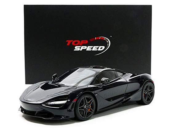 1:18 Top Speed Mclaren 720s - Amethyst Black