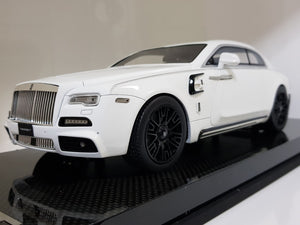 1:18 Autobarn Rolls Royce Mansory White with Black Rims