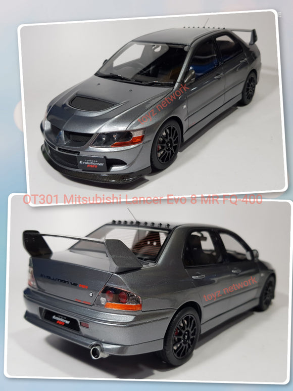1:18 Otto Mobile Mitsubishi Lancer Evo 8 MR FQ-400
