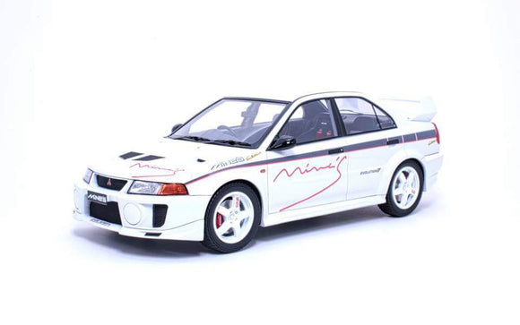 1:18 Tarmac Works Mitsubishi Lancer Evo V RS - Tuned by Mine's