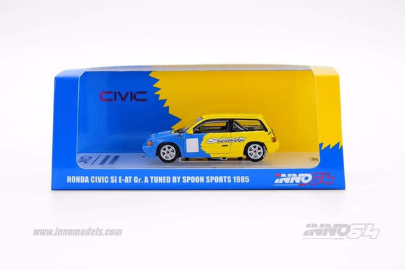 1:64 Inno64 Honda Civic Si E-AT Gr. A tuned by Spoon Sport 1985
