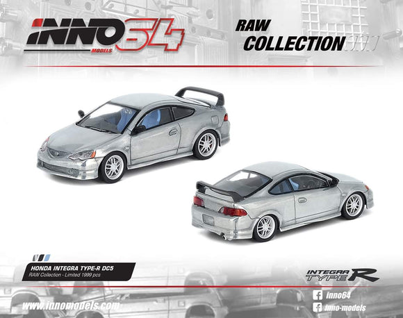 1:64 Inno64 Honda Integra DC5 - RAW Collection