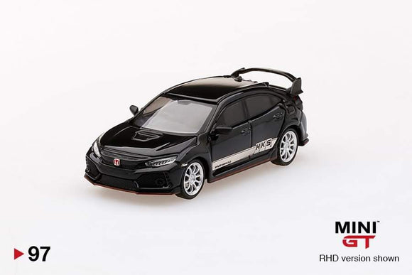 ☆Preorder☆ 1:64 Mini GT Honda Civic Type R HKS - Black