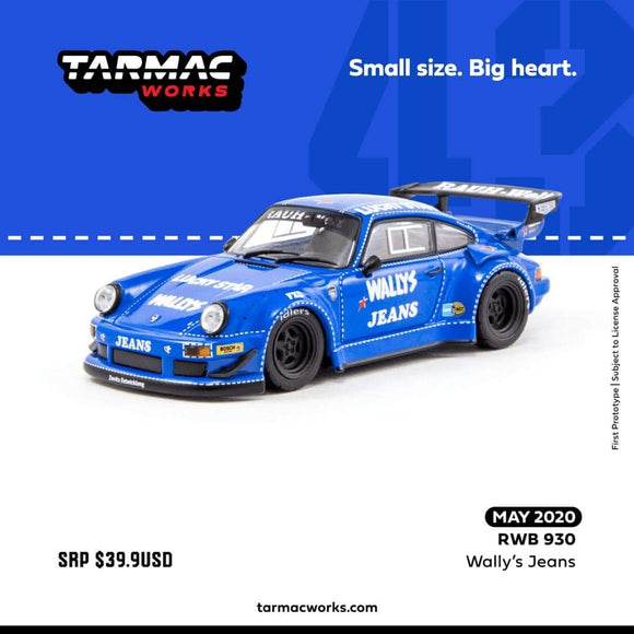 ☆Preorder☆ 1:43 Tarmac Works RWB 930 Wally's Jeans