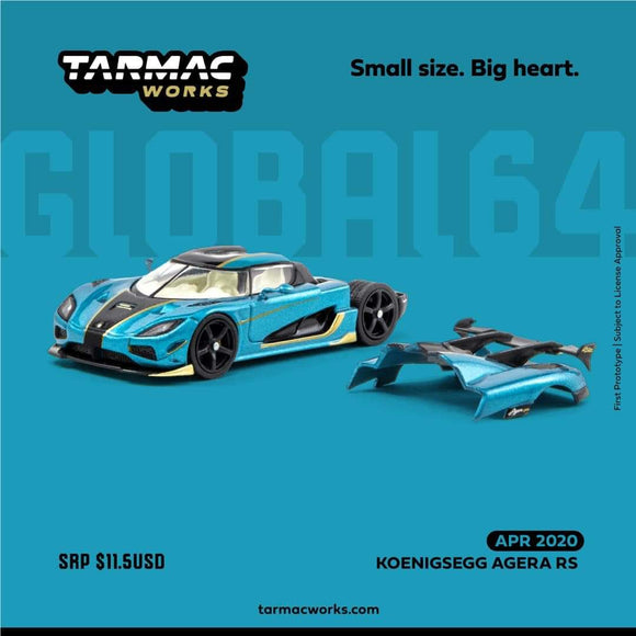 ☆Preorder☆ 1:64 Tarmac Works Koenigsegg Agera RS