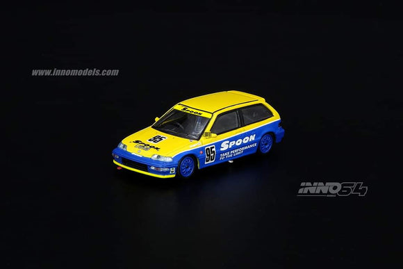 1:64 Inno64 Honda Civic EF9 #95 Tuned by Spoon Sports