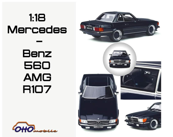 ☆Preorder☆ 1:18 Otto Mobile Mercedes Benz 560 AMG R107 - Cut off 25Jun