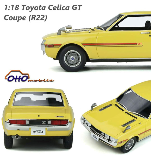 ☆Preorder☆ 1:18 Otto Mobile Toyota Celica GT Coupe R22 - Cut off 25Jun