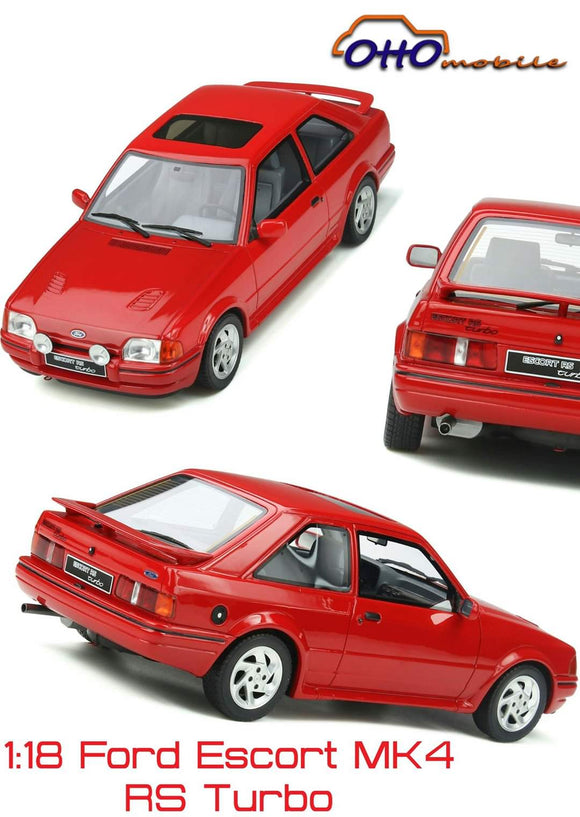 ☆Preorder☆ 1:18 Otto Mobile Ford Escort MK4 RS Turbo - Cut off 25Jul