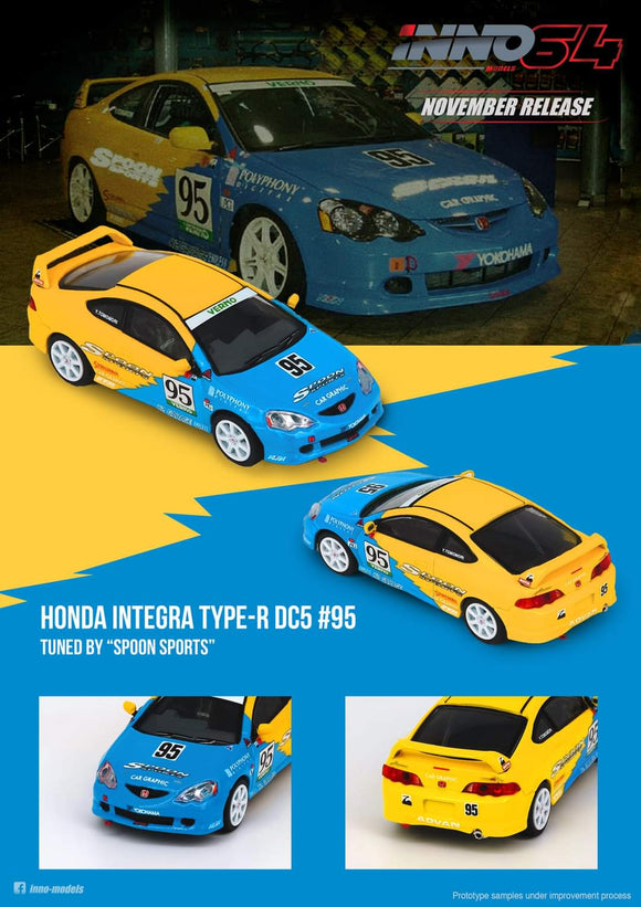 1:64 Inno64 Honda Integra Type-R DC5 Tuned by Spoon Sports