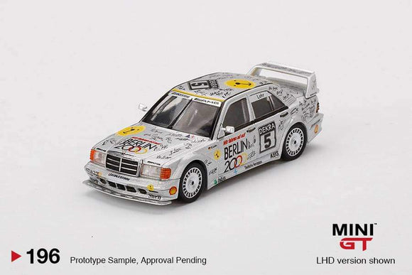 ☆Preorder☆ 1:64 Mini GT Mercedes Benz 190E 2.5-16 Evolution II #5