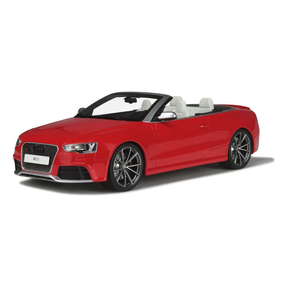 1:18 GT Spirit Audi RS5 Cabriolet - Red