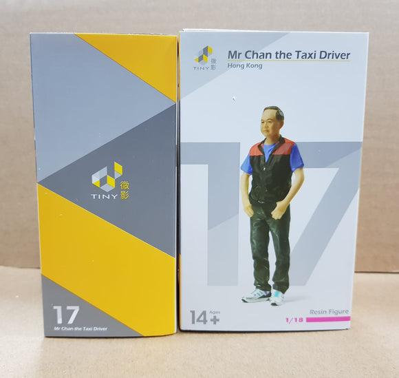 1:18 Tiny - Mr Chan The Taxi Driver
