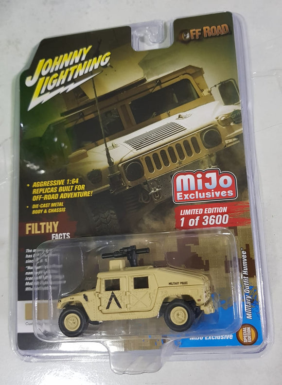 1:64 Johnny Lightning Military Outfit Humvee