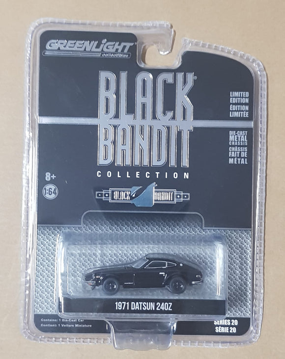 1:64 Greenlight Black Bandit Datson 240Z