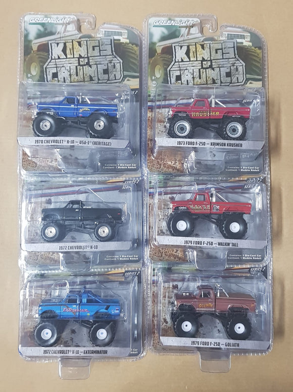 1:64 Greenlight King of Crunch Series 2 (Set)