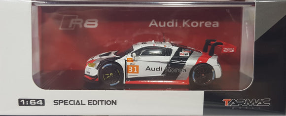 1:64 Tarmac Works Audi R8 LMS #31 - Audi Korea Asian Le Mans