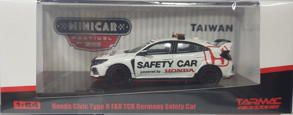 1:64 Tarmac Works Honda Civic Type R FK8 TCR Germany Safety Car - Taiwan MiniCar Festival -